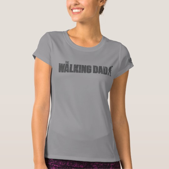 The Walking Dad Women's New Balance T-Shirt