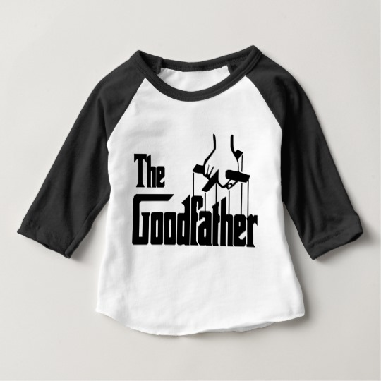 The Goodfather Baby American Apparel 3/4 Sleeve Raglan T-Shirt