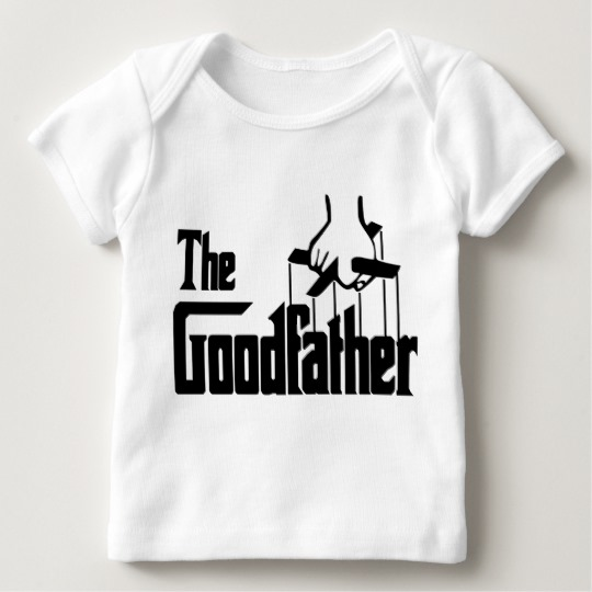 The Goodfather Baby American Apparel Lap T-Shirt