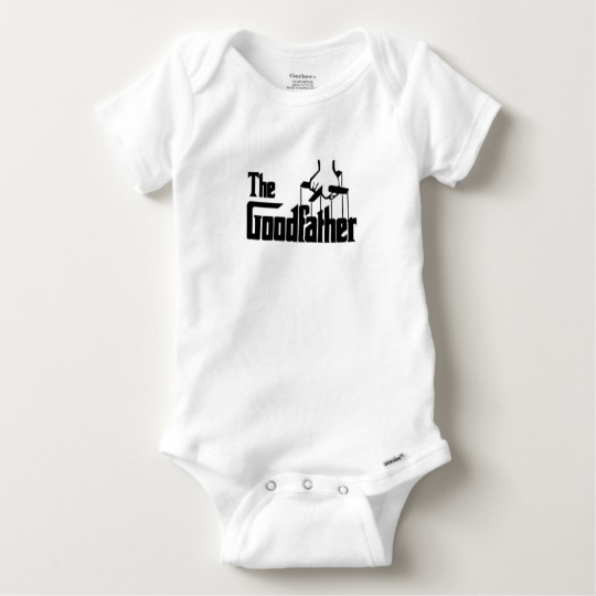 The Goodfather Baby Gerber Cotton Onesie