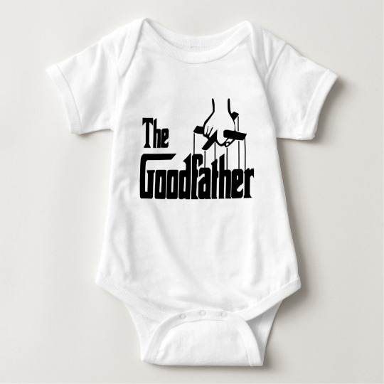 The Goodfather Baby Jersey Bodysuit