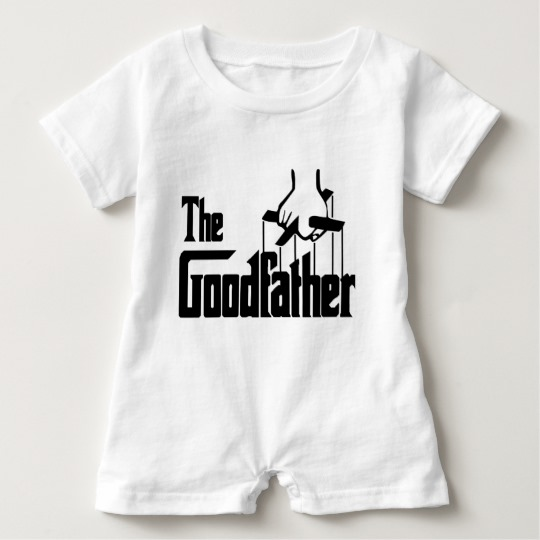 The Goodfather Baby Romper