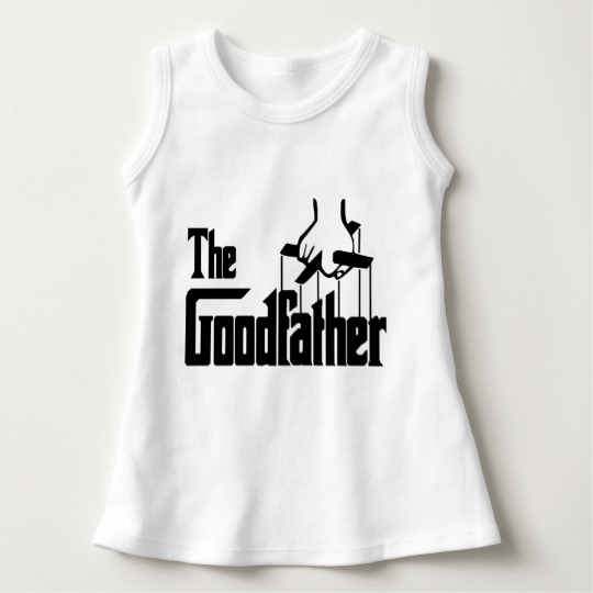 The Goodfather Baby Sleeveless Dress