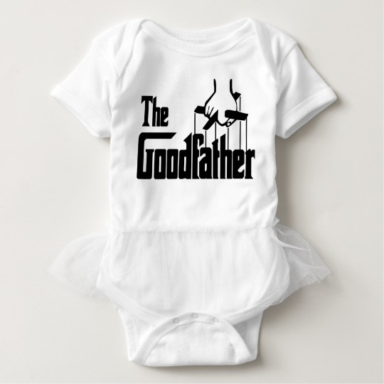 The Goodfather Baby Tutu Bodysuit