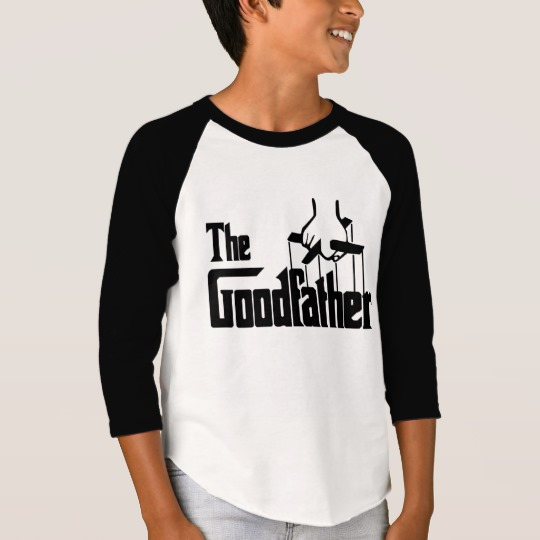 The Goodfather Boys' American Apparel 3/4 Sleeve Raglan T-Shirt