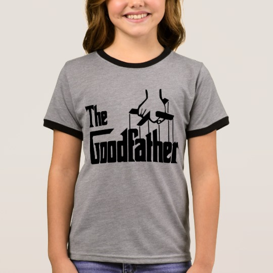 The Goodfather Girl's Ringer T-Shirt