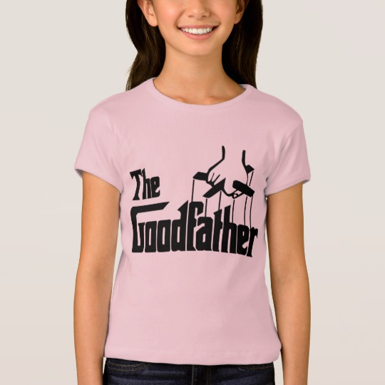 The Goodfather Girls' Bella+Canvas Fitted Babydoll T-Shirt
