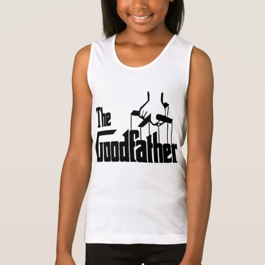 The Goodfather Girls' Fine Jersey Tank Top