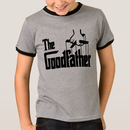 The Goodfather Kids' Basic Ringer T-Shirt