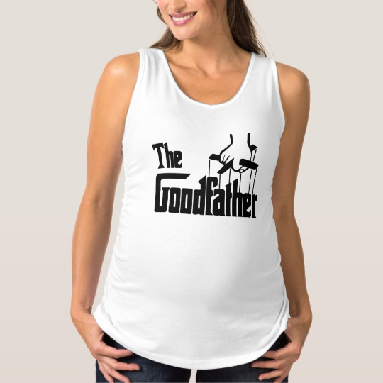 The Goodfather Maternity Tank Top