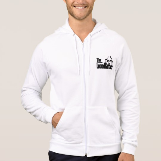 The Goodfather Men's American Apparel California Fleece Zip  Hoodie