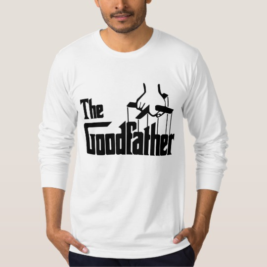 The Goodfather Men's American Apparel Fine Jersey Long Sleeve T-Shirt