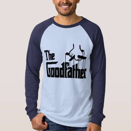 The Goodfather Men's Canvas Long Sleeve Raglan T-Shirt