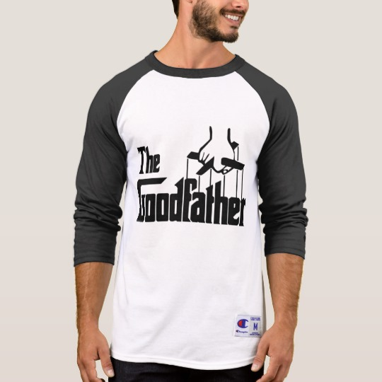 The Goodfather Men's Champion 3/4 Sleeve Raglan T-Shirt