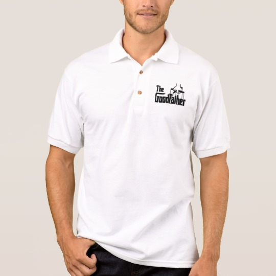 The Goodfather Men's Gildan Jersey Polo Shirt