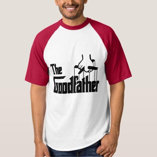 The Goodfather Men's Raglan Baseball T-Shirt