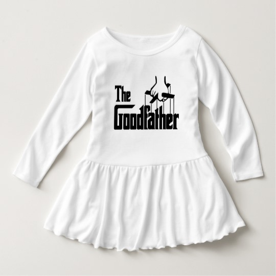 The Goodfather Toddler Ruffle Dress
