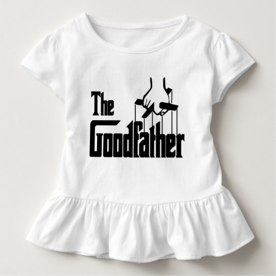 The Goodfather Toddler Ruffle Tee