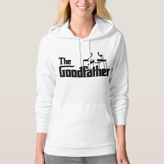 The Goodfather Women's American Apparel California Fleece Pullover Hoodie