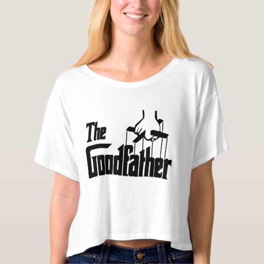 The Goodfather Women's Bella+Canvas Boxy Crop Top T-Shirt