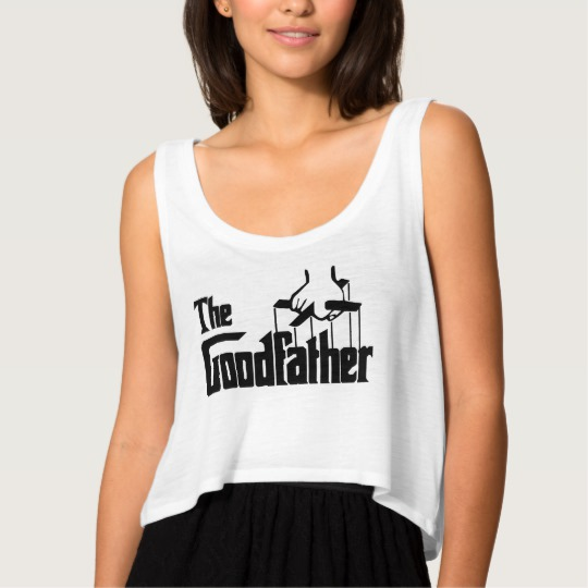 The Goodfather Women's Bella+Canvas Flowy Crop Tank Top