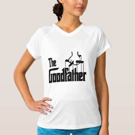 The Goodfather Women's Champion Double-Dry V-Neck T-Shirt