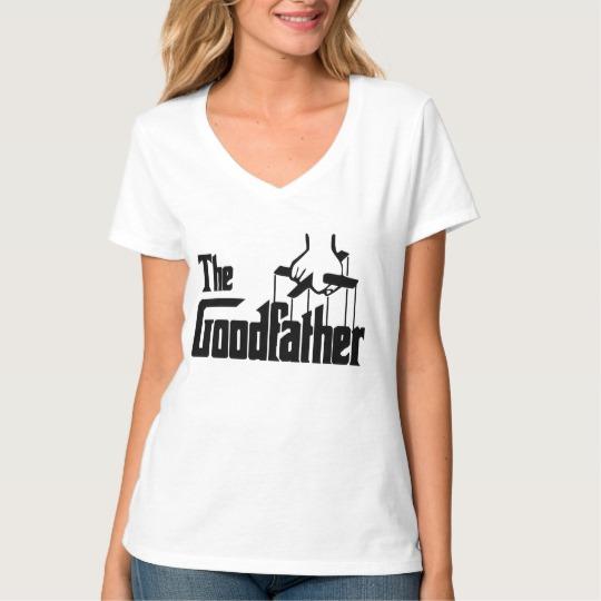 The Goodfather Women's Hanes Nano V-Neck T-Shirt