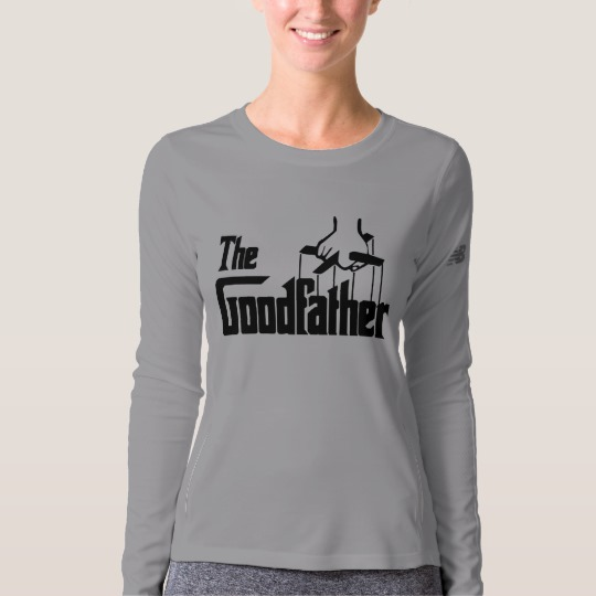 The Goodfather Women's New Balance Long Sleeve T-Shirt