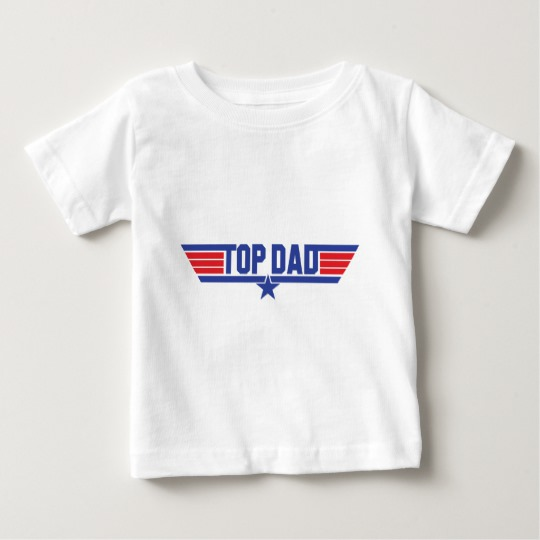 Top Dad Baby Fine Jersey T-Shirt