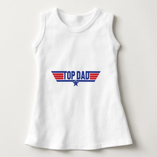 Top Dad Baby Sleeveless Dress