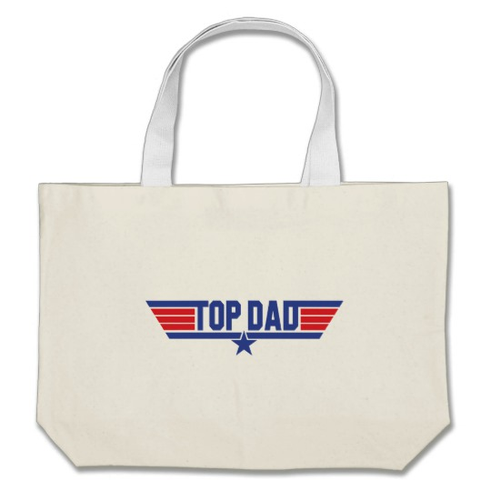 Top Dad Jumbo Tote