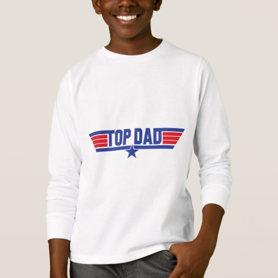 Top Dad Kids' Basic Long Sleeve T-Shirt