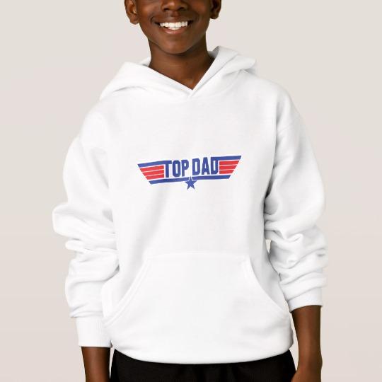 Top Dad Kids' Hanes ComfortBlend® Hoodie