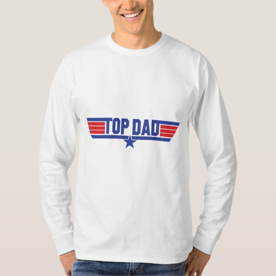 Top Dad Men's Basic Long Sleeve T-Shirt