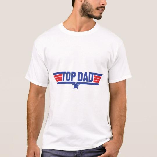 Top Dad Men's Basic T-Shirt