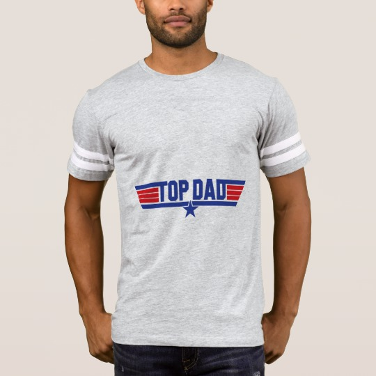 Top Dad Men's Football T-Shirt