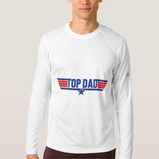 Top Dad Men's New Balance Long Sleeve T-Shirt