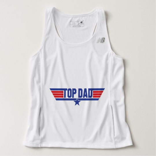 Top Dad Men's New Balance Tempo Running Tank Top