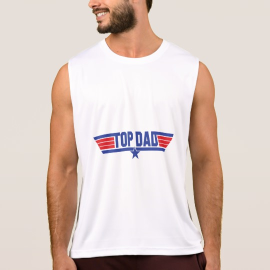 Top Dad Men's Performance Tank Top