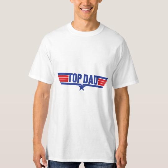 Top Dad Men's Tall Hanes T-Shirt