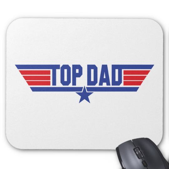 Top Dad Mousepad