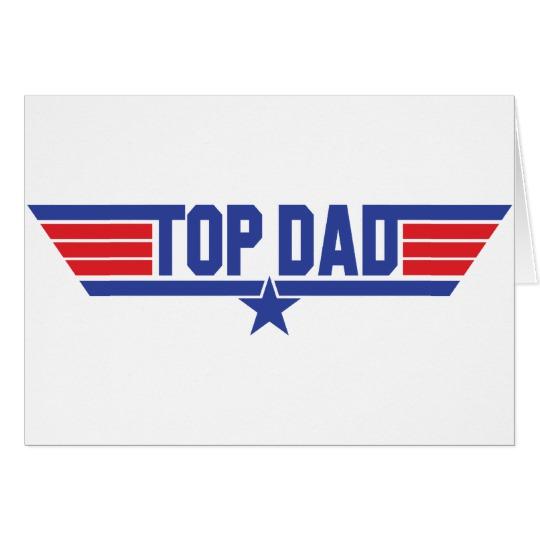 "Top Dad Standard (5"" x 7"")"