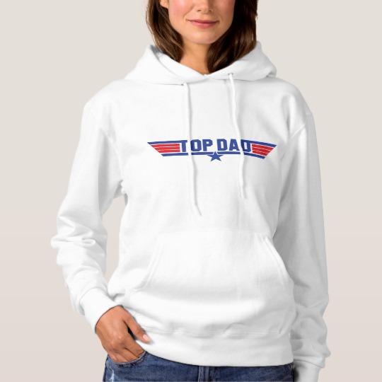 Top Dad Women's Basic Hooded Sweatshirt