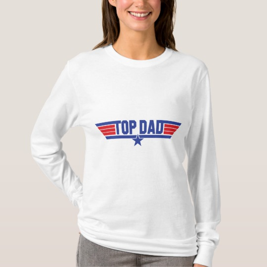 Top Dad Women's Basic Long Sleeve T-Shirt