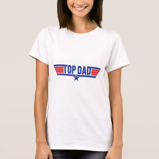 Top Dad Women's Basic T-Shirt