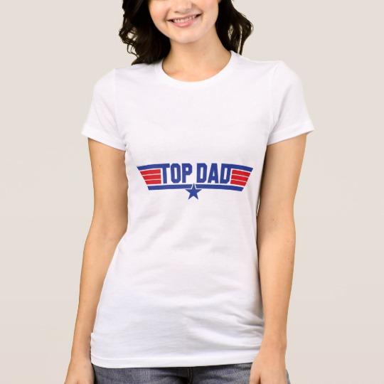 Top Dad Women's Bella+Canvas Favorite Jersey T-Shirt