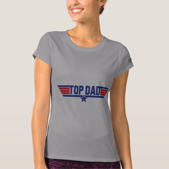Top Dad Women's New Balance T-Shirt