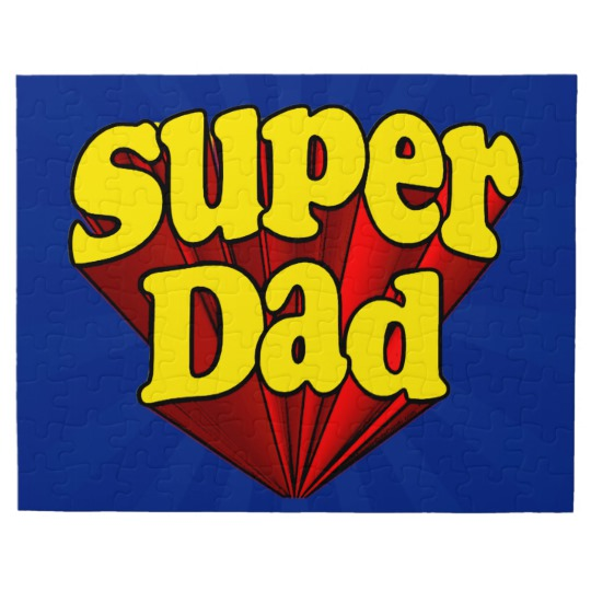 Super Dad 8x10 Photo Puzzle with Gift Box