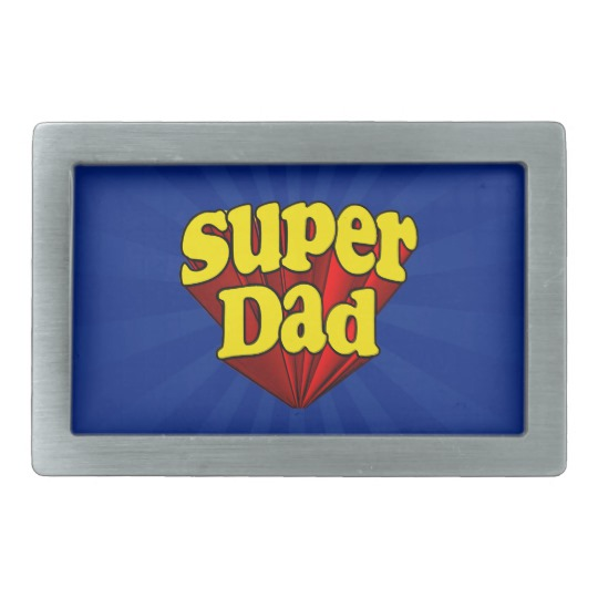 Super Dad Belt Buckle