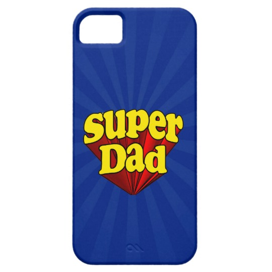 Super Dad Case-Mate Barely There iPhone SE + iPhone 5/5S Case